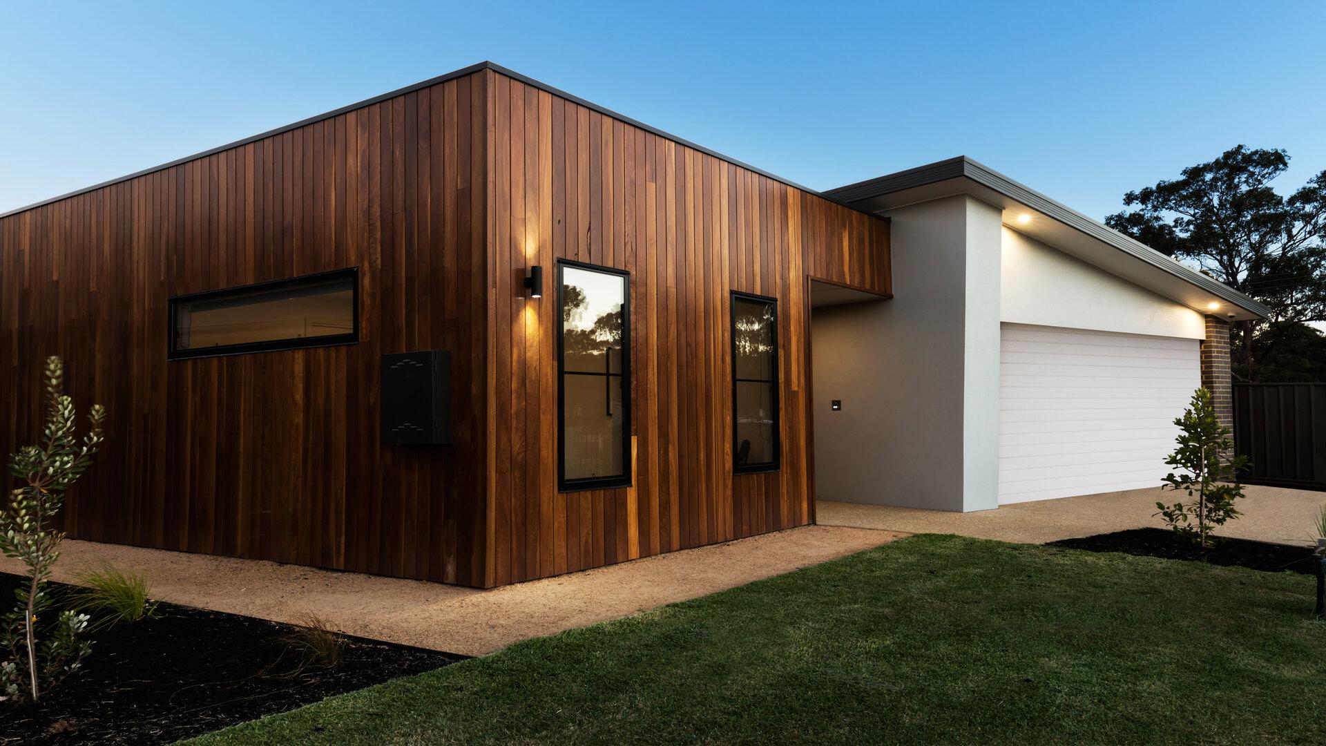 Préserver la partie boisée d'une maison en parfait état